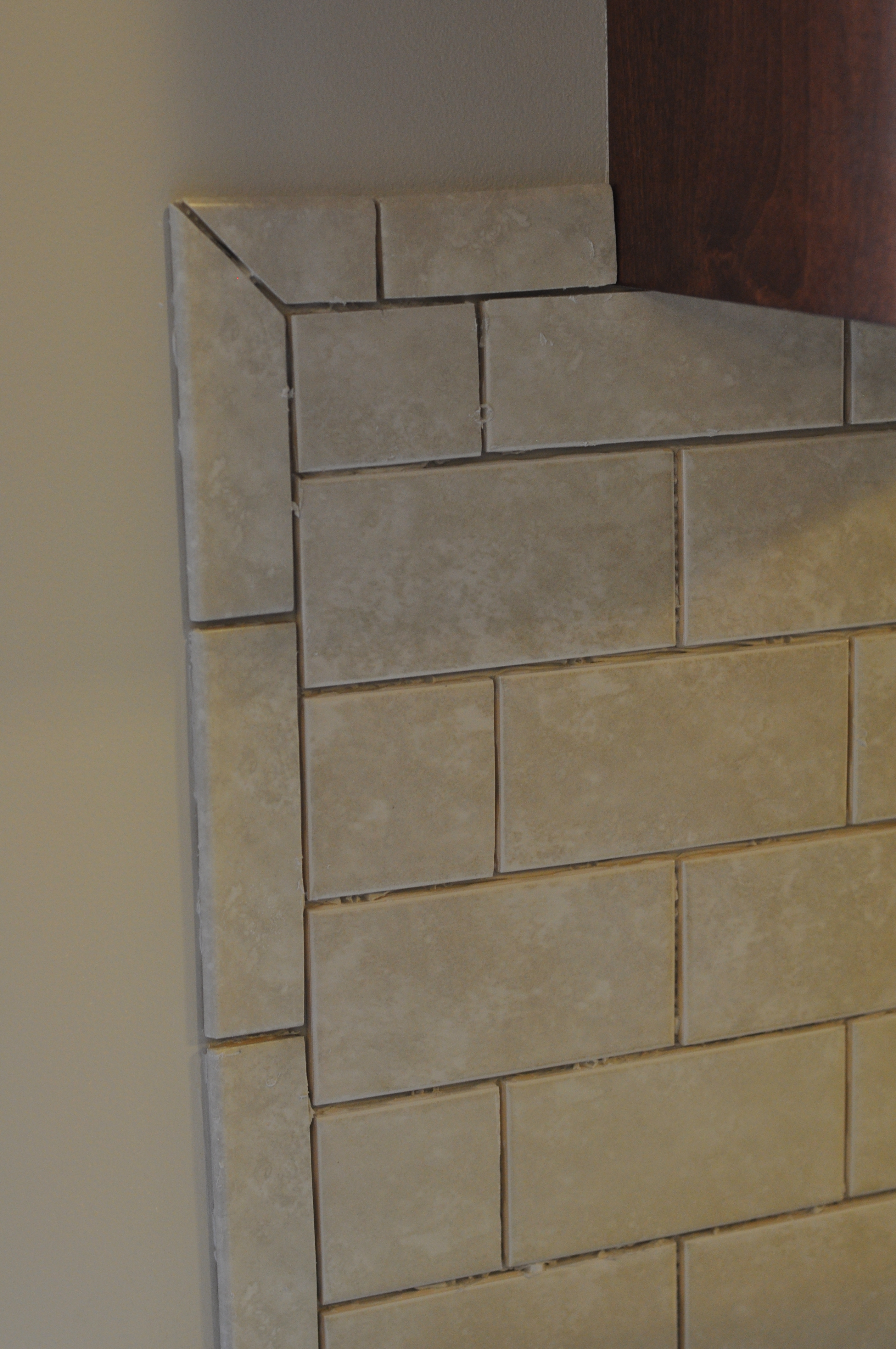 Kitchen Backsplash Bullnose Tile