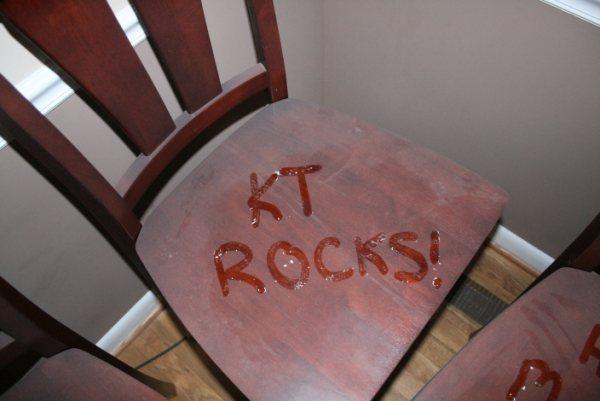 Dusty Chair