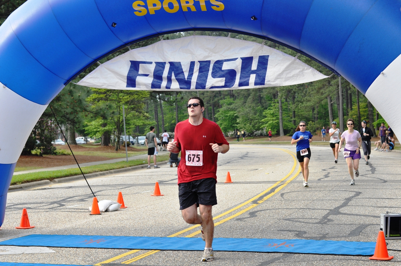 Dogwood Run Finish