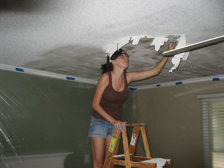 Can i remove asbestos popcorn ceiling myself energywarden popcorn ceiling with asbestos removing it yourself hbm blog solutioingenieria Choice Image