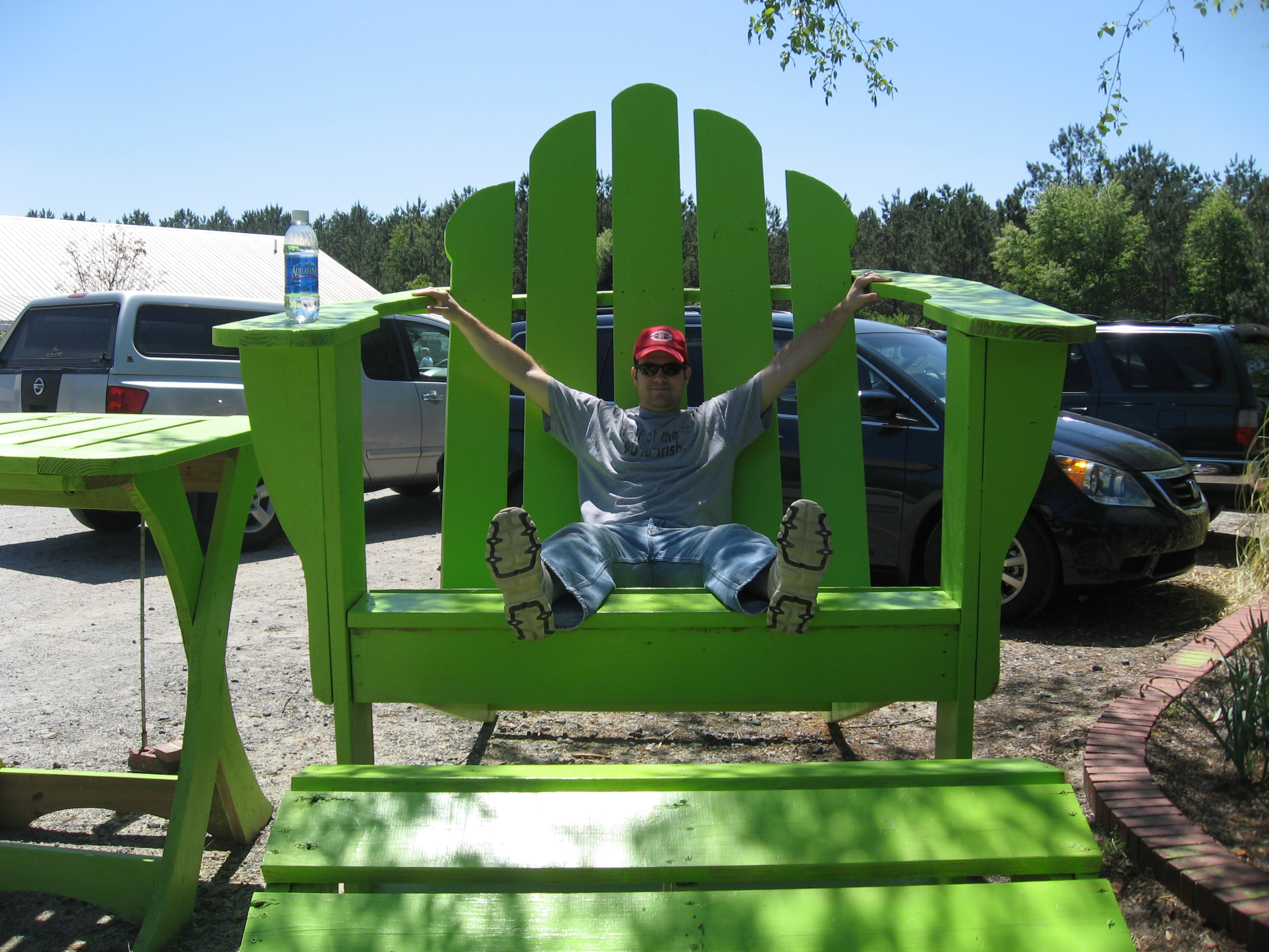 how to refinish adirondack chair