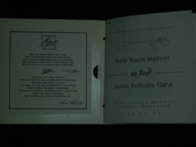 Inside Cover & Page 1 (outside)