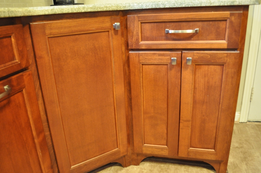 Stained Alder Cabinets Furniture Style Toekicks