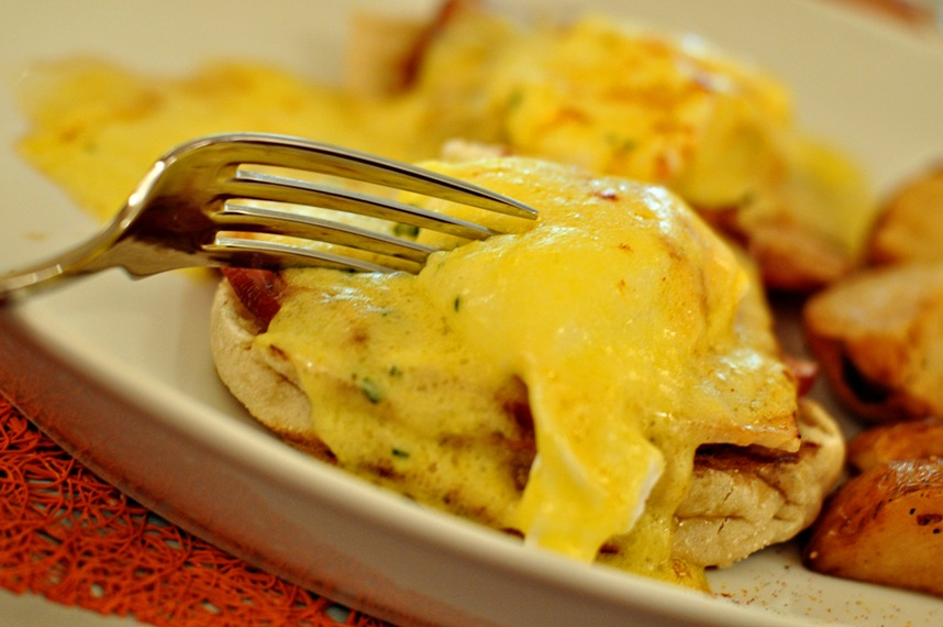 Eggs Benedict Royale