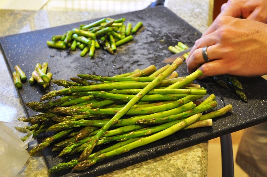 Chop Asparagus