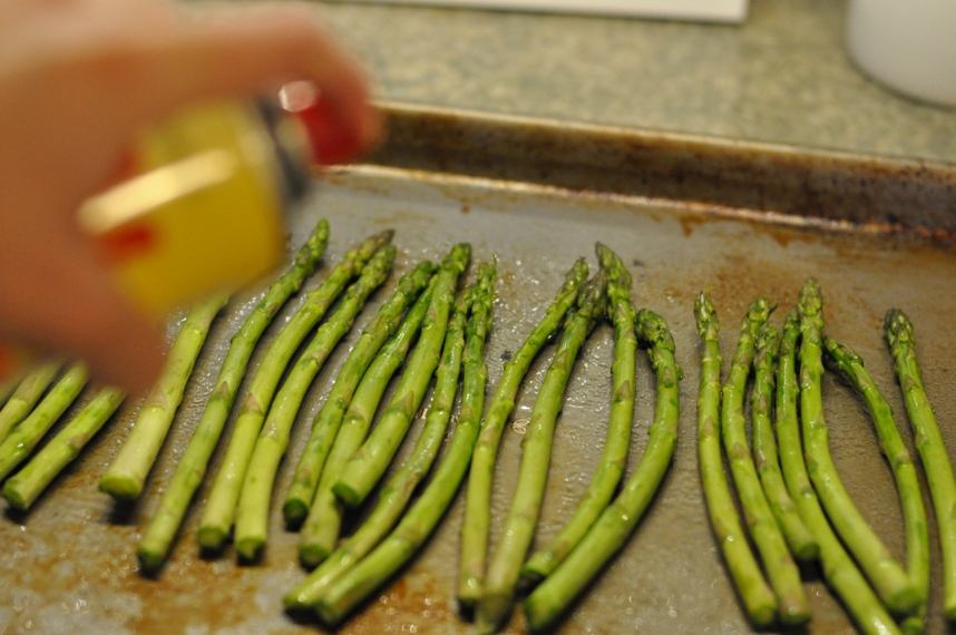 Asparagus with Balsamic Butter