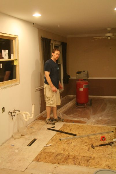 Replacing Subfloor