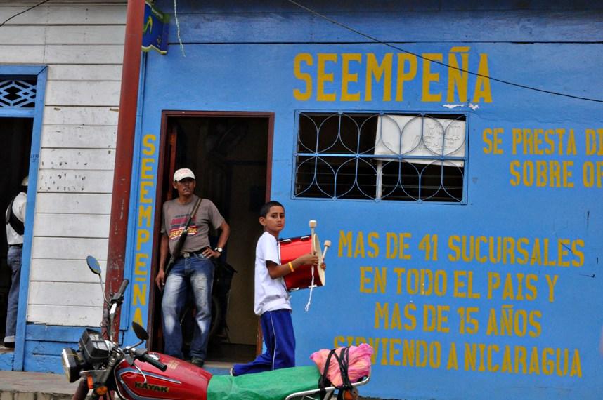 Wall, San Juan del Sur, Nicaragua