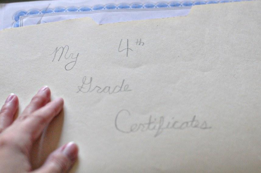 4th Grade certificates