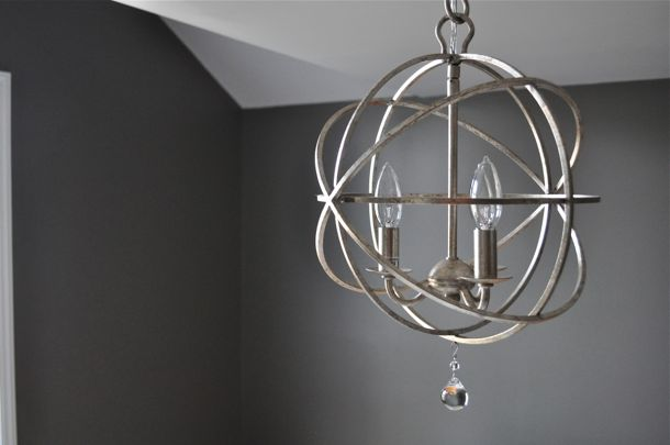 Fine heres a sneak peek at my bedroom pervs domestiphobia thats just my armillary antiqued silver chandelier mozeypictures Images