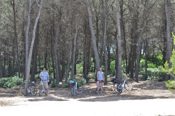 Biking on Formentera